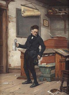 Unknown title. Gérard Jozef Portielje (Belgian, 1856-1929)