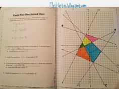 8th Grade Math Units 3 And 4 Notebooks Interactive Secondary