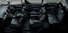 Toyota Vellfire INTERIOR 2015