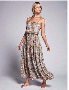 FREE PEOPLE Valerie Maxi Dress in Spring Garden Meadow Size XS  148NWT  OB481430  FreePeople c876e982f4f9