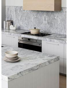 / Coastal Homes, Coastal Living, Kitchen Interior, Kitchen Design, Breeze Block Wall, Mim Design, Australian Homes, Interior Design Studio, Inspired Homes