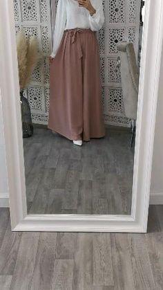 Modest Fashion Hijab, Modesty Fashion, Fashion Dresses, Fashion Pants, Style Fashion, Fashion Tips, Muslim Women Fashion, Islamic Fashion, Hijab Fashion Inspiration