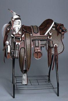 KEN TIPTON of Tips Saddlery Custom Wade Saddle for Sale ...