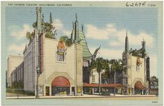 The Chinese Theatre, Hollywood, California | by Boston Public Library