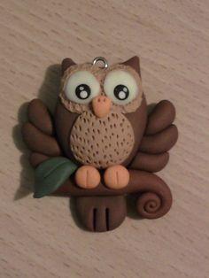 Owl fimo by bimbalove81.deviantart.com on @deviantART