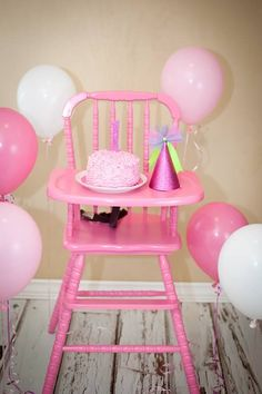 I have an old highchair just like this I want to re paint red for Carter's party