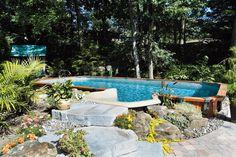 Piscine on pinterest piscine hors sol patio and above for Piscine trevi