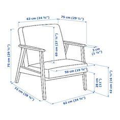 IKEA EKENÄSET sillón Líneas depuradas y amplio espacio para que puedas leer, jugar o relajarte. Wood Chair Design, Sofa Design, Furniture Design, Pallet Furniture, Furniture Plans, Outdoor Furniture, Ikea Armchair, Ikea Us, Fabric Armchairs