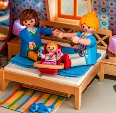 Baby Doll Nursery, Baby Room, Baby Dolls, Playmobil Sets, Play Mobile, Lego Minecraft, Polly Pocket, Legoland, Doll Crafts