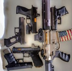 pistols, guns, weapons, self defense, protection, carbine, AR-15, 2nd amendment, America, firearms, munitions #guns #weapons: