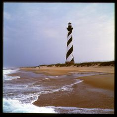 Cape Hatterus Lighthouse, Outer Banks of North Carolina.