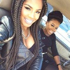 JAYDA WAYDA BRAIDSTWIST Pinterest Black Girls