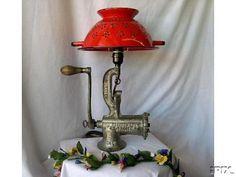 Image result for meat grinder lamp