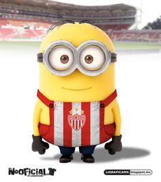 #Soccer #minion #NoOficial #LigraficaMX @Club Necaxa