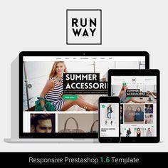 theme - Mode & Chaussures - Runway Fashion Responsive Prestashop 1.6 - 1 60€