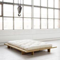 Japan Bett von Karup in Honey