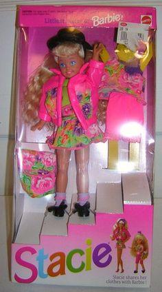 Barbie Stacie Littlest Sister of Barbie 1991