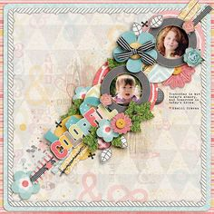 I Love Me Some Sheri Templates + Font (euro) by Darcy Baldwin {fontography} #   February Storyteller 2013 Digital Scrapbooking Kit Collection by Just Jaimee