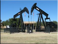 Permian Basin Oil Museum. Midland, Texas.