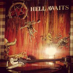 Instagram media by langekale - New Slayer any good? #slayer #hellawaits #atdawntheysleep
