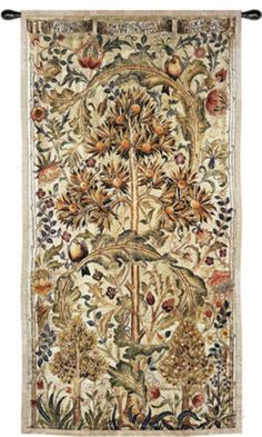 Summer Quince Wall Tapestry by William Morris at AllPosters.com