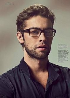 Chace Crawford..... Why have I not discovered you and your sexy glasses before????