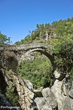Ponte da Mizarela - Portugal by Portuguese_eyes, via Flickr