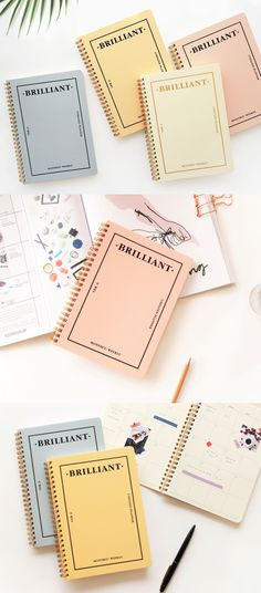 Everything is brilliant about Pastel Brilliant Weekly Planner; the colorful cover, clean and well-functioning layout, and easy to carry portable size!