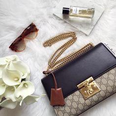 Chanel perfume and Gucci Padlock bag for the lady. #perfume #chanel #gucci #guccibag #guccipadlock #handbag #baglover #fashionista #fabfashionfix