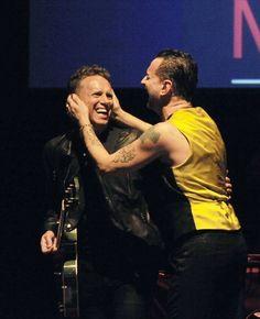 Martin Gore + Dave Gahan