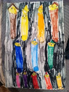 """Luca Palleschi """"Shared A Smile"""". Crayons make me smile! Crayons, Kite, Make Me Smile, Campaign, Pure Products, Colouring Pencils, Dragons, Colored Pencils"""