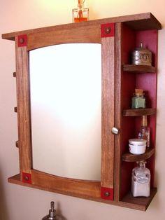 home made medicine cabinet