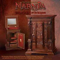 narnia wardrobe jewelry box