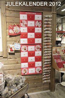 HOBBYKUNST: Julekalender inspirasjon Advent Calendar, Holiday Decor, Blog, Home Decor, Interior Design, Home Interior Design, Home Decoration, Decoration Home, Interior Decorating