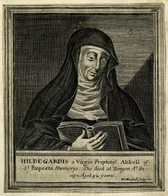 Hildegard of Bingen (1098-1179), author, philosopher, musician and herbalist who wrote extensively on health care. She wrote two popular books on medicine: Physica dealt with the importance of hygiene and health; Causes and Cures described Aristotelian physics and was a practical guide to herbs and medicines. Hildegard's philosophy of health was Hippocratic and moderate. Her works could be seen as early versions of health advice books.