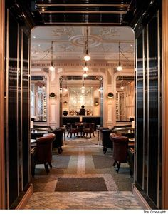 I love the Connaught. It is for me the most beautiful place in London
