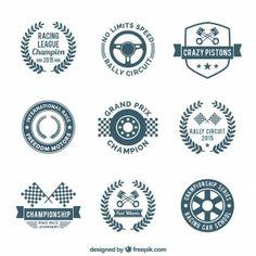 Emblemas de corridas