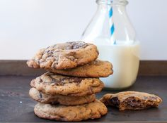 chocolate chunk cookies with sea salt - Marin Mama Cooks