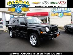 Used Certified 2016 Jeep Patriot Latitude Black 4WD Sport Utility GD759655R For Sale at Global Auto Mall North Plainfield NJ 07060