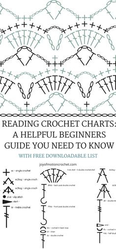 Reading Crochet Charts: A helpful beginners guide you need to know! Crochet chart symbols. Crochet chart diagram. Crochet chart pattern. Crochet tutorial. #crochetchart #crochettutorial #crochet #crochetstitch #crochetchartsymbol