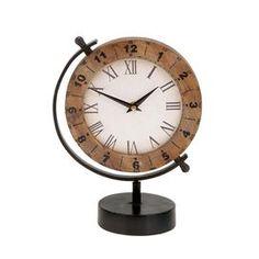 Latitude Table Clock