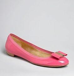 kate spade new york Round Logo Toe Ballet Flats - Tock-Shoes - pink.jpg