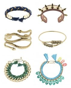 bracelets bracelets bracelets - Click image to find more DIY & Crafts Pinterest pins