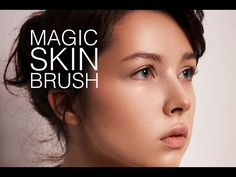 the Skin Brush! Very often the texture is quite messing in some areas of the face. It could be blurred o. Texture Brushes Photoshop, Photoshop Hair, Adobe Photoshop, Lightroom, Modern Photography, Photoshop Photography, Human Skin Texture, Natural Brushes, Skin Brushing