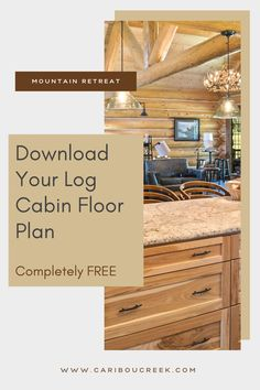 Choose the log home floor plan that is right for you! #cariboucreekloghomes #loghomedesign #logcabinfloorplans Log Cabin Floor Plans, House Floor Plans, Timber Frame Homes, Timber House, Log Cabin Homes, Log Cabins, Log Home Designs, Cabin Interiors, Plan Design
