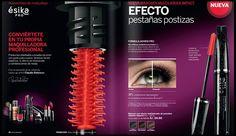 BeautyForever: Mascara de Pestañas Esika Pro Make Beauty, Make Up, Layout, Inspiration, False Eyelashes, Makeup Lips, Mascaras, Tips, Elegant