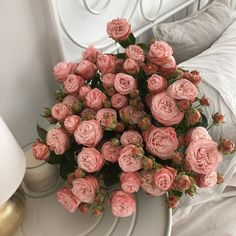 The Ritz Paris' Auction of Lots of Pre-Renovation Items Pink Flower Bouquet, Pink Flowers, Pink Roses, Flower Aesthetic, Spring Aesthetic, Urban Aesthetic, Planting Flowers, Floral Arrangements, Beautiful Flowers