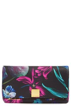 Ted Baker London 'Midnight Bloom' Clutch available at #Nordstrom