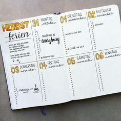 Endlich hab ich mal wieder Zeit gefunden, meine Woche etwas ansehnlicher zu gestalten #bulletjournal #bulletjournaling #bulletjournaljunkies #bulletjournallove #germanbujojunkies #leuchtturm1917 #leuchtturm1917de #bujo #bujojunkies #bujolove #planner #planneraddict #plannercommunity #plannergirl #handwriting #handlettering #tombow #notebook #bujobeauty #lehrerleben #herbstferien #autumn #herbst #julianphilippdavid @leuchtturm1917de @leuchtturm1917