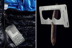 Columbia Replaced Hang Tags With Multi-tool Survival Tags
